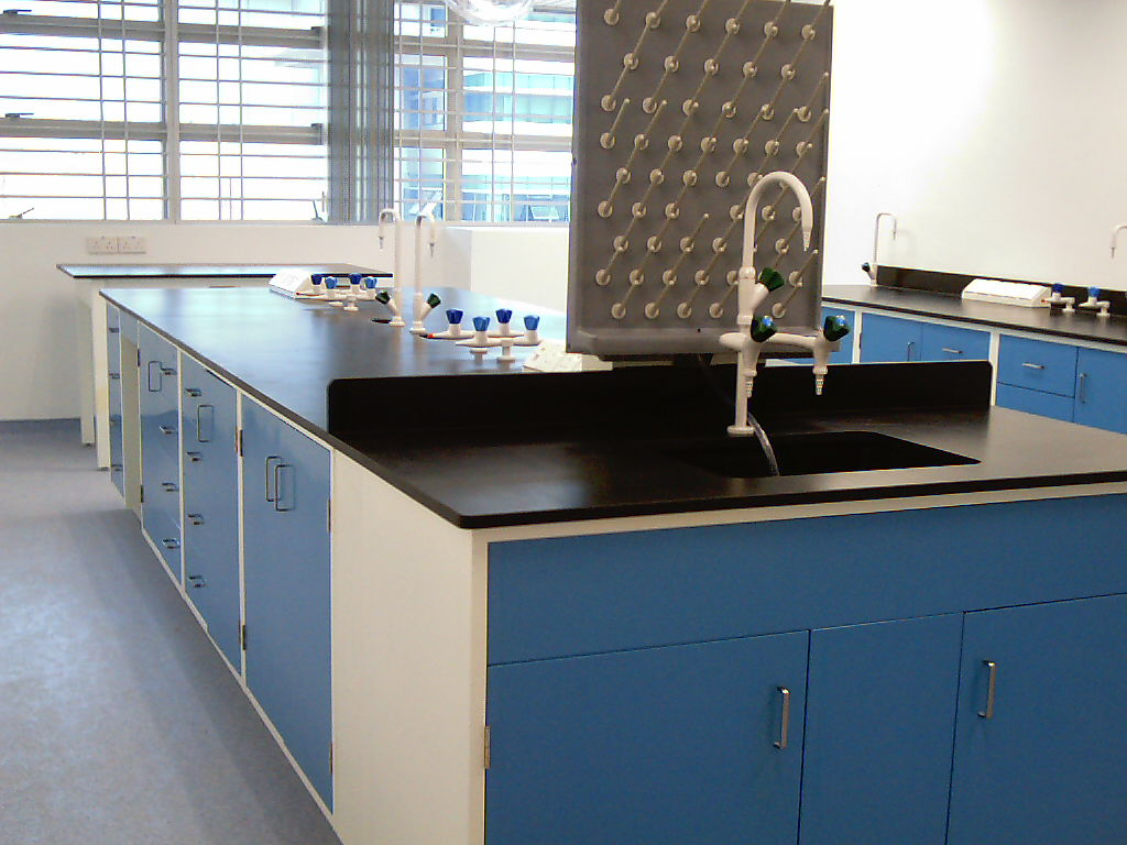 Lab furniture island bench