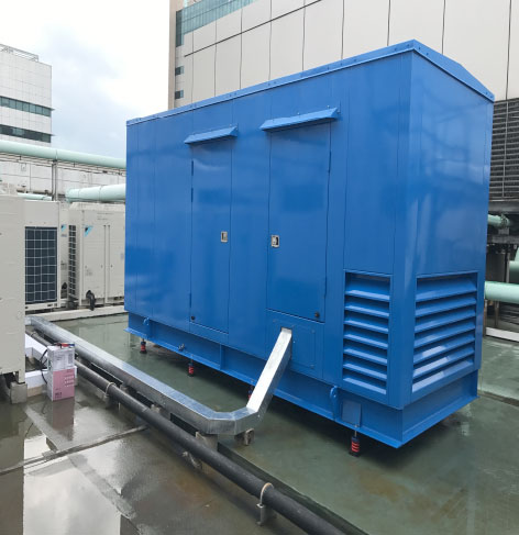 Outdoor-generator